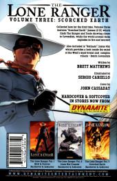 Verso de The lone Ranger Vol.1 (Dynamite - 2006) -21- Issue # 21