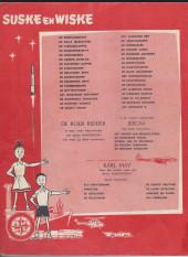 Verso de Suske en Wiske -51- DE NERVEUZE NERVIERS