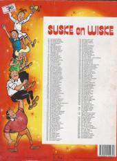 Verso de Suske en Wiske -209- DE KWAAIE KWIETEN