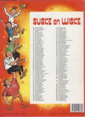 Verso de Suske en Wiske -211- DE WOESTE WESPEN