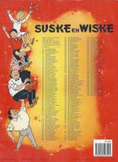 Verso de Suske en Wiske -238- DE SLIMME SLAPJANUS
