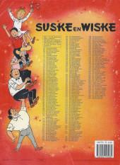 Verso de Suske en Wiske -240- DE POTTENPROEVER