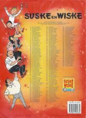 Verso de Suske en Wiske -243- DE AVERECHTSE AAP