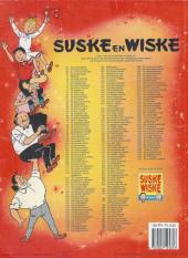 Verso de Suske en Wiske -246- DE VONKENDE VUURMAN