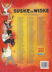 Verso de Suske en Wiske -249- DE RAZENDE RACE
