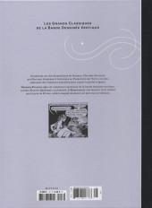 Verso de Les grands Classiques de la Bande Dessinée érotique - La Collection -116129- L'Enquêteuse