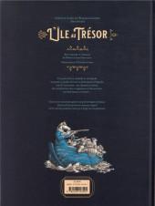Verso de (AUT) Friess - L'île au trésor