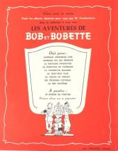 Verso de Bob et Bobette -9- La Nef fantôme