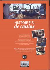 Verso de Histoire(s) de cuisine
