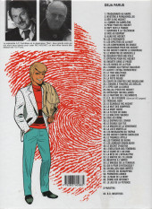 Verso de Ric Hochet -17f1999- Épitaphe pour Ric Hochet