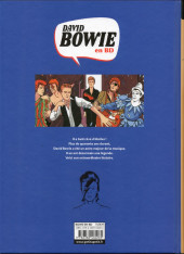 Verso de David Bowie en BD