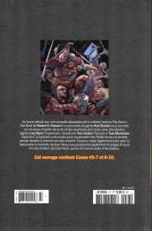 Verso de Savage Sword of Conan (The) (puis The Legend of Conan) - La Collection (Hachette) -77- Cendres et poussière
