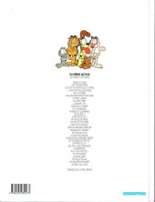 Verso de Garfield -4c2001- La faim justifie les moyens