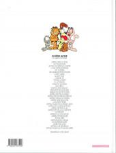 Verso de Garfield -10c2002- Tiens bon la rampe