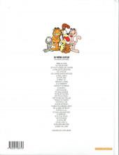 Verso de Garfield -11a2001- Ah, le farniente !