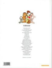Verso de Garfield -14a2000- Lave plus blanc