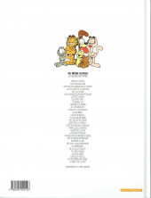 Verso de Garfield -16b2001- Fait feu de tout bois