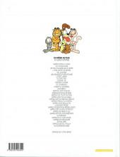 Verso de Garfield -24b2000- Garfield se prend au jeu