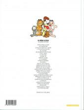Verso de Garfield -25b2000- Garfield est sur la mauvaise pente