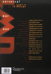 Verso de Universal War One -4b2014- Le déluge