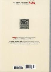 Verso de Les grands Classiques de la BD Historique Vécu - La Collection -27- Giacomo C. - Tome V : Pour l'amour d'une cousine