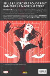Verso de Wanda : La Sorcière Rouge -INT- La route des sorcières
