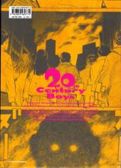 Verso de 20th Century Boys - Perfect Edition -3- Volume 3