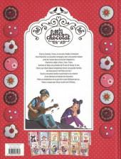 Verso de Les filles au chocolat -1ES2- Cœur Cerise