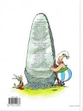 Verso de Astérix (Hachette) -1d2013- Astérix le Gaulois