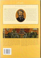 Verso de La vuelta al mundo en 80 días de Julio Verne