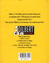 Verso de Dilbert (Vents d'Ouest) -3- Pas besoin d'expérience quand on a la grosse tête