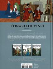 Verso de Les grands Personnages de l'Histoire en bandes dessinées -48- Léonard de Vinci