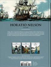 Verso de Les grands Personnages de l'Histoire en bandes dessinées -47- Horatio Nelson