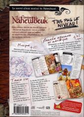 Verso de Le donjon de Naheulbeuk -HS- T'as pas le niveau ! Ménestrel roadbook