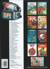 Verso de Spirou et Fantasio -1d2009- 4 aventures de Spirou ...et Fantasio