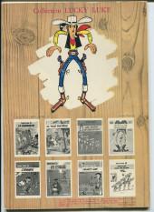 Verso de Lucky Luke -17b1972- Sur la piste des Daltons