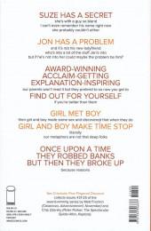 Verso de Sex Criminals (Image comics - 2013) -INT05- Five fingered discount