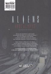 Verso de Aliens Apocalypse (Le Culte Des Anges)