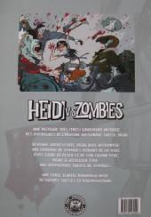 Verso de Heidi vs zombies