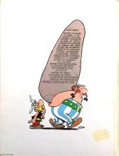 Verso de Astérix -22a1979- La grande traversée