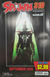 Verso de Spawn (1992) -309B- Consequence of Sin Part 2