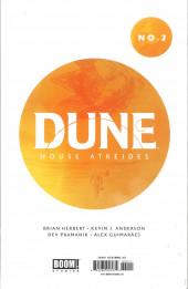 Verso de Dune: House Atreides -2- Issue #2