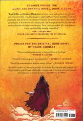 Verso de Dune: The Graphic Novel -1- Book 1