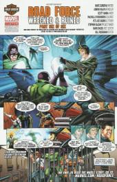 Verso de Death of Wolverine: Deadpool & Captain America (2014) - Death of Wolverine: Deadpool & Captain America