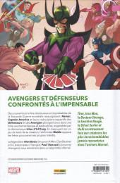 Verso de Avengers / Defenders -1- Tarot