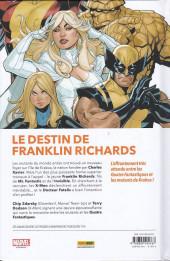 Verso de X-Men + Fantastic Four : 4X