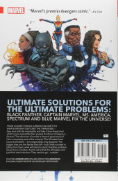 Verso de The ultimates (Marvel - 2016) -INT01- Volume 1: Start with The Impossible