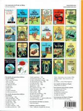 Verso de Tintin (Historique) -13d2012- Les 7 boules de cristal