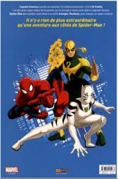 Verso de Ultimate Spider-Man (Panini Kids) -5- Le bouclier de Captain America
