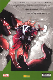 Verso de Avengers (Marvel France - 2020) -10- Nativité stellaire